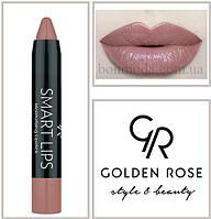 Кремовая помада-карандаш Golden Rose Smart lips moisturising lipstick № 02