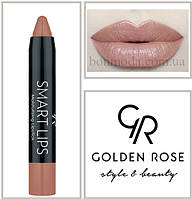 Кремовая помада-карандаш Golden Rose Smart lips moisturising lipstick № 03, фото 1