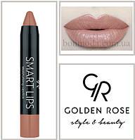 Кремовая помада-карандаш Golden Rose Smart lips moisturising lipstick № 03