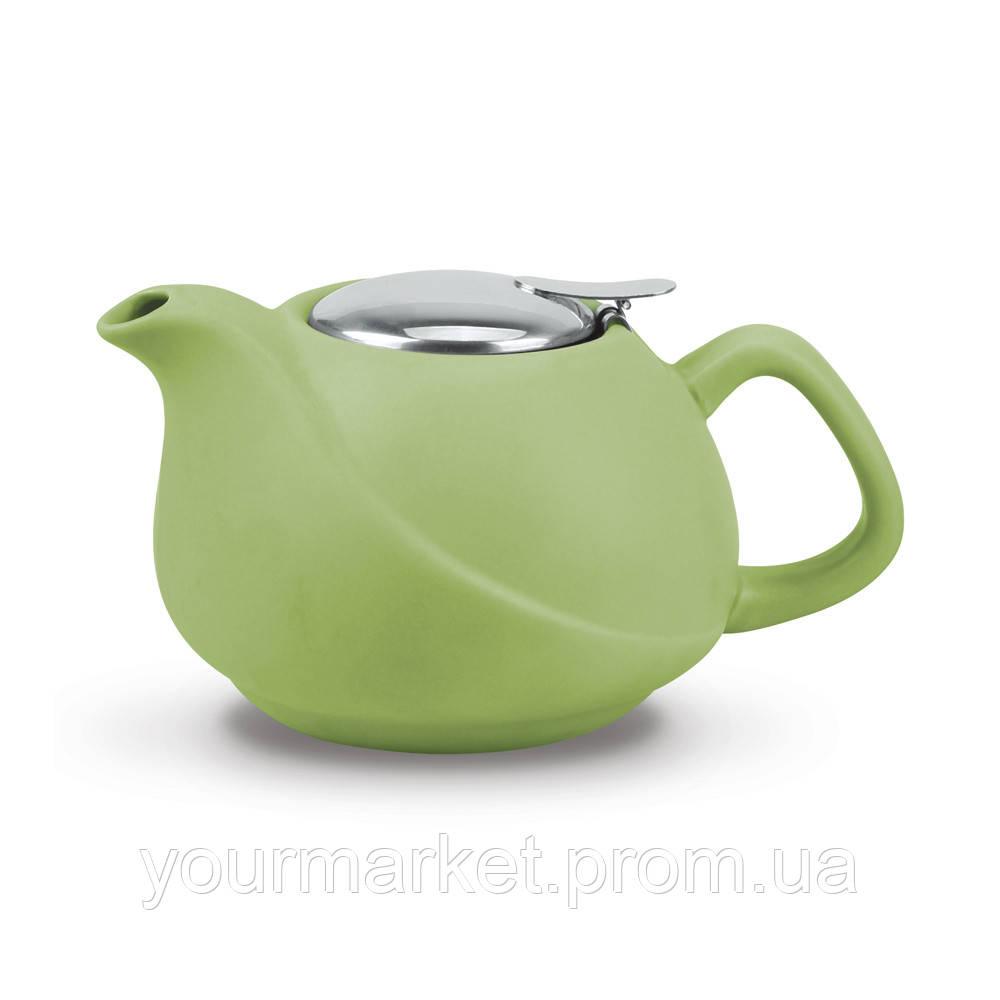 36a4d79e362b Чайник заварочный керамический Fissman 750 мл Светло-зеленый 9376 F