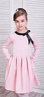 Школьное платье с карманами  кл211, фото 1