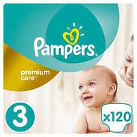 Подгузники Pampers Premium Care Midi 3 (5-9 кг), 120 шт. купить в Киеве!