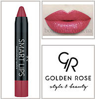 Кремовая помада-карандаш Golden Rose Smart lips moisturising lipstick № 12, фото 1