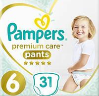 Трусики Pampers Premium Care Extra Large 6 (15+ кг), 31 шт.