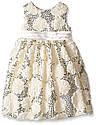 Нарядное очень нежное молочное платье (Размер 8Т)  American Princess (США) С  пышными нижними  юбками!, фото 2