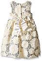 Нарядное очень нежное молочное платье (Размер 8Т)  American Princess (США) С  пышными нижними  юбками!, фото 3