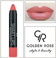 Кремовая помада-карандаш Golden Rose Smart lips moisturising lipstick № 17, фото 1
