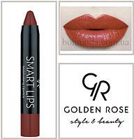 Кремовая помада-карандаш Golden Rose Smart lips moisturising lipstick № 18, фото 1