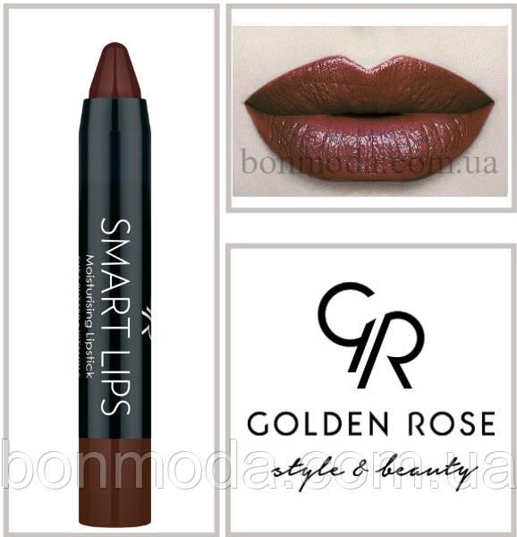 Кремовая помада-карандаш Golden Rose Smart lips moisturising lipstick № 19