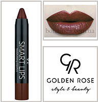 Кремовая помада-карандаш Golden Rose Smart lips moisturising lipstick № 19, фото 1