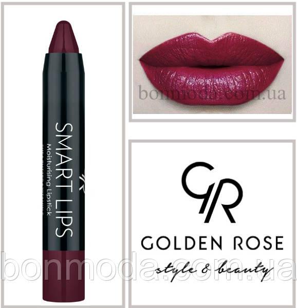 Кремовая помада-карандаш Golden Rose Smart lips moisturising lipstick № 21