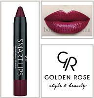 Кремовая помада-карандаш Golden Rose Smart lips moisturising lipstick № 21, фото 1