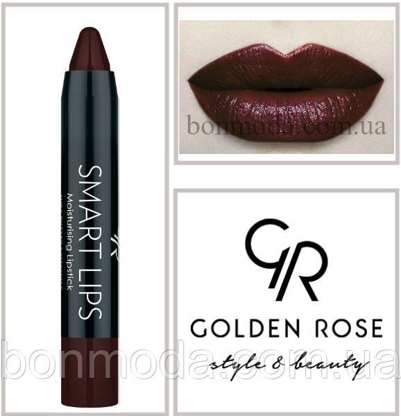 Кремовая помада-карандаш Golden Rose Smart lips moisturising lipstick № 24