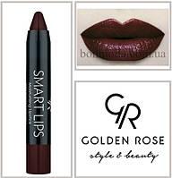 Кремовая помада-карандаш Golden Rose Smart lips moisturising lipstick № 24, фото 1