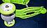 Детский самокат беговел 3 в 1 02B. Салатовый, фото 4