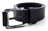 Мужской кожаный ремень Diesel для джинсов, фото 1