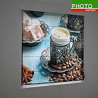 Римские фотошторы аромат Турецкого кофе
