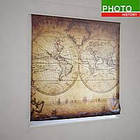 Римские фотошторы старинная карта