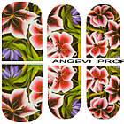 Наклейки для Нігтів Нігтики PhotonailArt Водні Різнокольорові, Мала Пластина, Angevi SL 46, фото 3