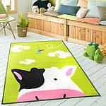 Коврик для детской комнаты Коровка 100 х 130 см Berni