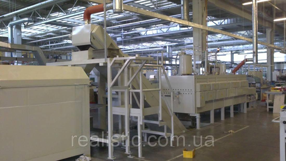 Проходная ленточная печь до: 300 °C / 500 °C / 750 °C / 950 °C