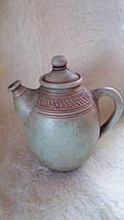 Авторський чайник з молоченої кераміки