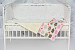 """Плед для ребенка с плюшем Minki в пупырышках """"Слоники"""" Лимонного цвета, фото 3"""