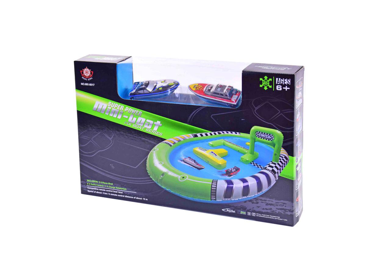Набор радиоуправляемых катеров с бассейном, MX-0017-1