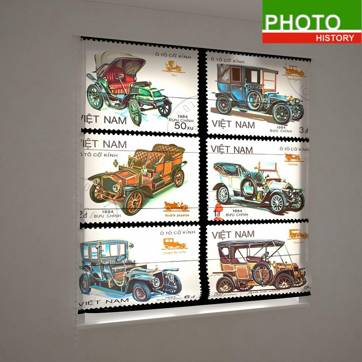 Римские фотошторы разное ретро марки