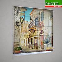 Римские шторы старинная Венеция