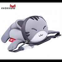 Сумка на пояс Серый котик 3D / Сумка детская / Сумочка для детей / Сумка для девочки / Сумка для мальчика