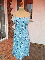 Платье летнее крепдешин фирмы AMARANTO (48р) НОВОЕ