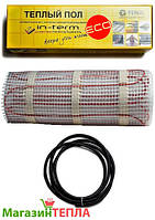 Теплый пол под плитку In-Therm ECO Mat-200 (Чехия) - нагревательный мат 9.2м² (1850W)