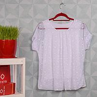 Женская ажурная блузка. RBOSSI F97. Размер 50-52.