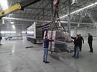 Перевозка,выгрузка и монтаж станков, оборудования и емкостей