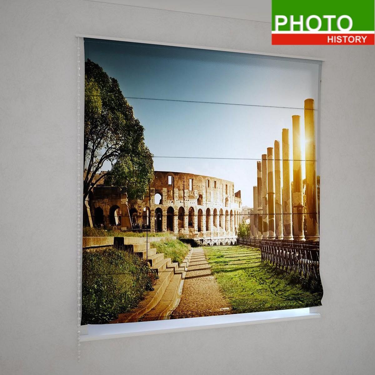 Римские шторы  парк возле Колизея