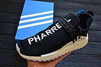 Мужские кроссовки Adidas Pharrell Williams NMD Human Race Yellow реплика, фото 1