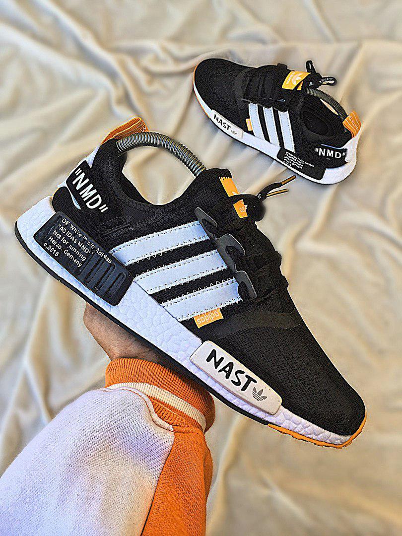 separation shoes 99303 6236f Мужские кроссовки Off-White x Adidas NMD R1 , Копия: продажа, цена в  Львове. кроссовки, кеды повседневные от