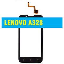 Сенсорний екран LENOVO 328 A / A328t / A338t BLACK, фото 2