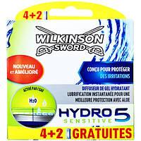 Картриджи для бритья Wilkinson Sword Hydro 5 Sensitive 6 шт