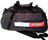 Рюкзак-сумка УНІВЕРСАЛЬНИЙ (сірий)25*54, фото 6