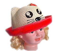 Шляпка Котик