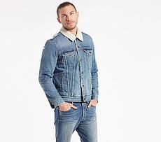 Зимняя джинсовая куртка Levis Trucker -  Buckman