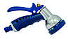 Пистолет-распылитель металлический,7 режимов Verano (72-027)