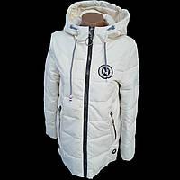 Детская подростковая демисезонная куртка для девочки (рост 134-152)