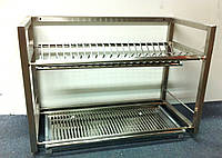 Сушка для посуды 1000 мм из нержавеющей стали