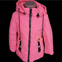 Детская демисезонная куртка для девочки (рост 110-134) b305ac4de5634