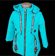 Детская демисезонная куртка для девочки (рост 104-116)