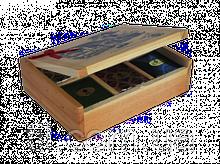 6 CEYLON FLAVOUR TEAS Шесть видов цейлонского ароматизированного чая 125гр