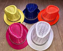 Летняя шляпка для взрослых